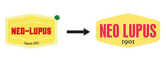 Nouveau logo Neo Lupus